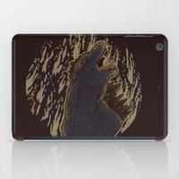 godzilla iPad Cases featuring Godzilla by Mallory Morgan