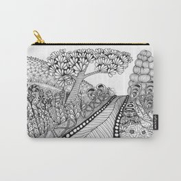 Zentangle Illustration - Road Trip Carry-All Pouch
