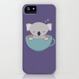 Kawaii Cute Koala Bear iPhone Case
