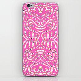 Pink Haring iPhone Skin