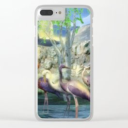 Lakeside View Clear iPhone Case