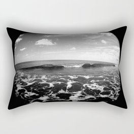 set wave Rectangular Pillow