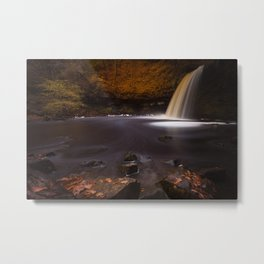 Lady Falls Sgwd Gwladus waterfall Metal Print