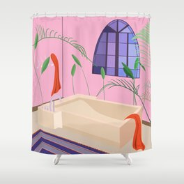 Bathed Shower Curtain