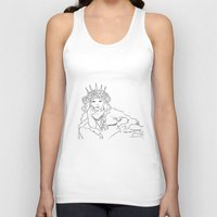 mucha Tank Tops featuring Mucha Style by Crousticro