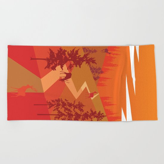 My Nature Collection No. 26 Beach Towel