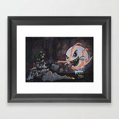 BooBusters Framed Art Print