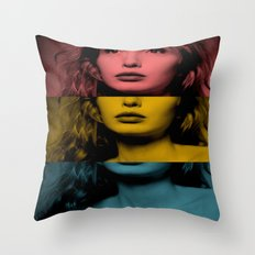 Julie Delpy Throw Pillow