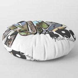 The Living Desert Zoo Big Letter Floor Pillow