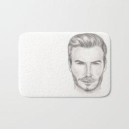 David Beckham Bath Mat