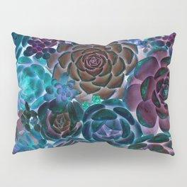 Surreal Succulents Gypsy Boho Fantasy Garden Pillow Sham