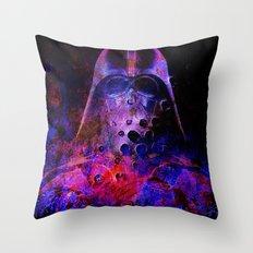 Darth Abstract Vader Throw Pillow