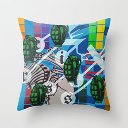 #1 (Count Down Series) Throw Pillow