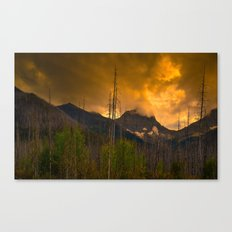 Kootenay Wildfires Canvas Print
