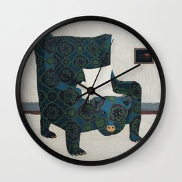 Polar Chair II Wall Clock
