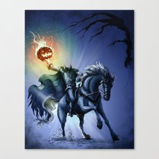 The Horseman Cometh Canvas Print