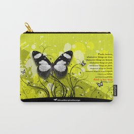 Philippians 4-8 Whatsoever Things Carry-All Pouch