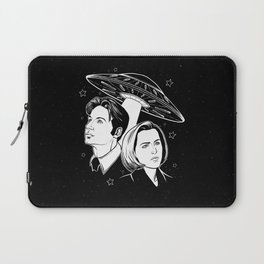 Mulder and Scully Laptop Sleeve