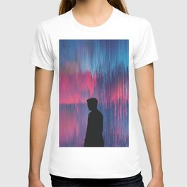 The world behind the screen T-shirt