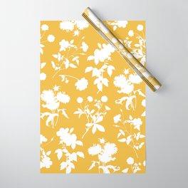 Botanic garden - yellow Wrapping Paper