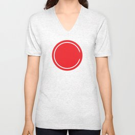 Red Circle - Riverdale Unisex V-Neck