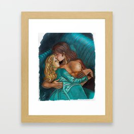 Candy Candy embraced color Framed Art Print