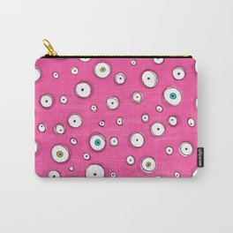 All Eyes on You Pink Carry-All Pouch