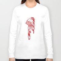 headdress Long Sleeve T-shirts featuring Headdress by ttrostle