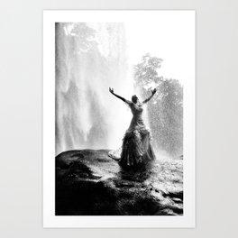 Bride with liberty Art Print