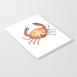 Crab: Fish of Portugal Notebook