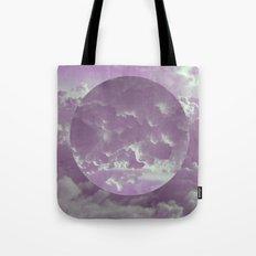 Purple Clouds Tote Bag