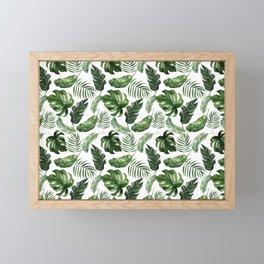 Tropical Leaf Framed Mini Art Print
