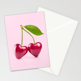 CHERRY LOVE Stationery Cards
