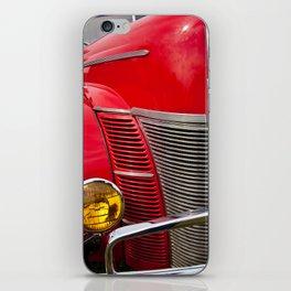 Vintage V8 iPhone Skin
