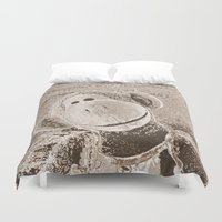 """outdoor Duvet Covers featuring Monkey """"Outdoor"""" by Ruby and Gunther"""