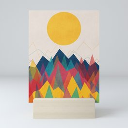 Uphill Battle Mini Art Print