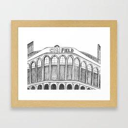 Citi Field Framed Art Print