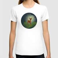 bambi T-shirts featuring Bambi by Ashleigh Jane