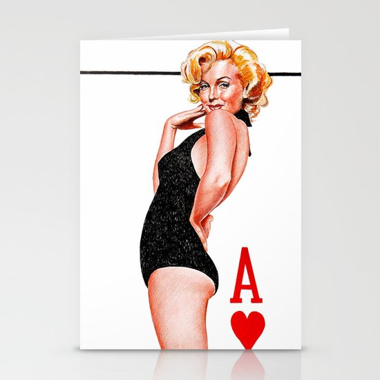 Marilyn monroe Stationery Cards