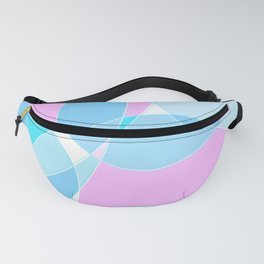 Abstract Wavy Visual Graphic Design V.5 Fanny Pack
