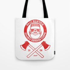 Paul Bunyan Zombie Defense Corps Tote Bag