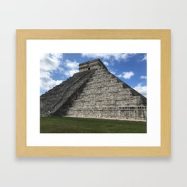 Mexico chichen itza Framed Art Print