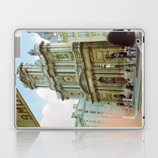 Paris in 35mm Film: Eglise Saint-Paul-Saint-Louis in Le Marais Laptop & iPad Skin