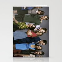 glee Stationery Cards featuring Glee by weepingwillow
