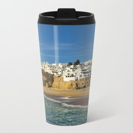 Albufeira in winter Metal Travel Mug
