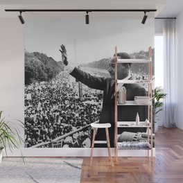 Remembering Martin Luther King Wall Mural