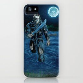 Hockey Masked Killer iPhone Case