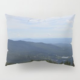 Stowe, Vermont Mountains Pillow Sham