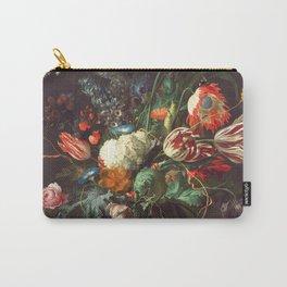 Vase of Flowers II - de Heem Carry-All Pouch