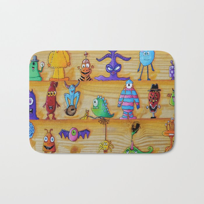 Creatch: First Impressions (Character Introduction) Bath Mat